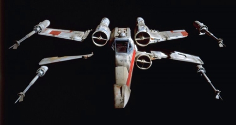 © Lucasfilms, Ltd. This is an X-Wing from Star Wars. Unfortunately, I did not take this image. Apparently the Rebel Alliance doesn't have a huge need for nature photographers in space.